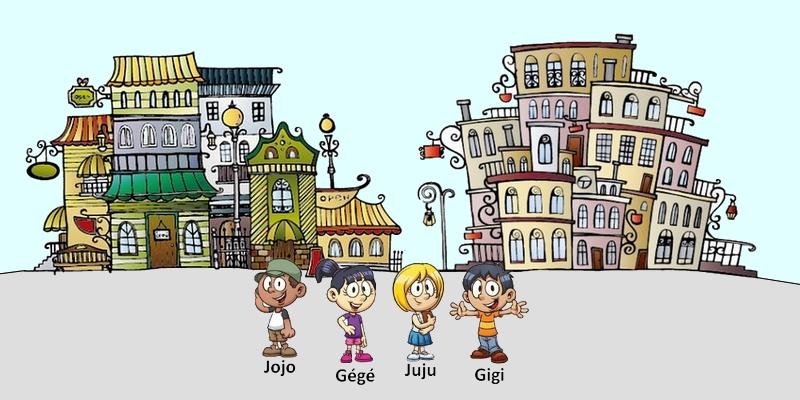 enigme logique Jojo Gégé Juju et Gigi