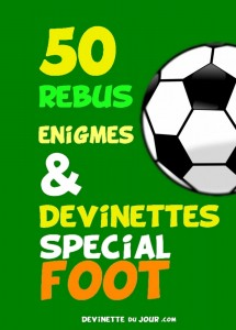 50 devinettes special foot